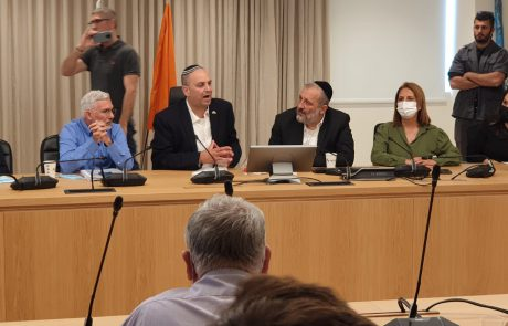 לוד: משלחת השרים וחברי הכנסת שהגיעו לתמוך בתושבי העיר לאחר המהומות