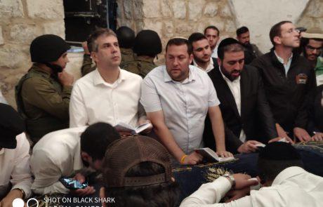 19 שנים לאחר הרצח- משפחתו של הלל ליברמן נכנסה הלילה לקבר יוסף להגיד קדיש לזכרו