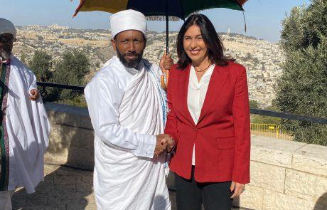 כ-15,000 מתפללים ציינו את אירועי חג הסיגד בטיילת ארמון הנציב ירושלים